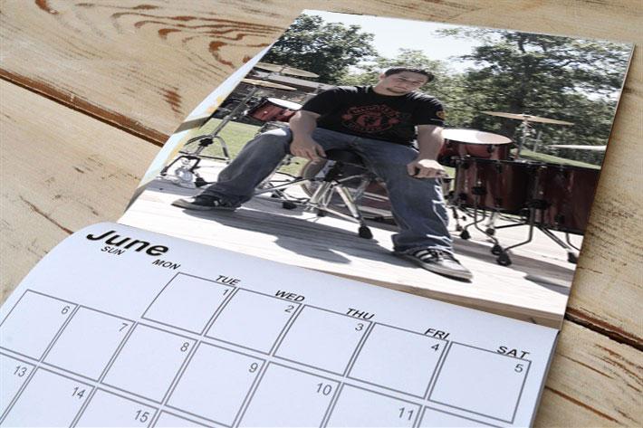8.5x9.5 Locker Calendar