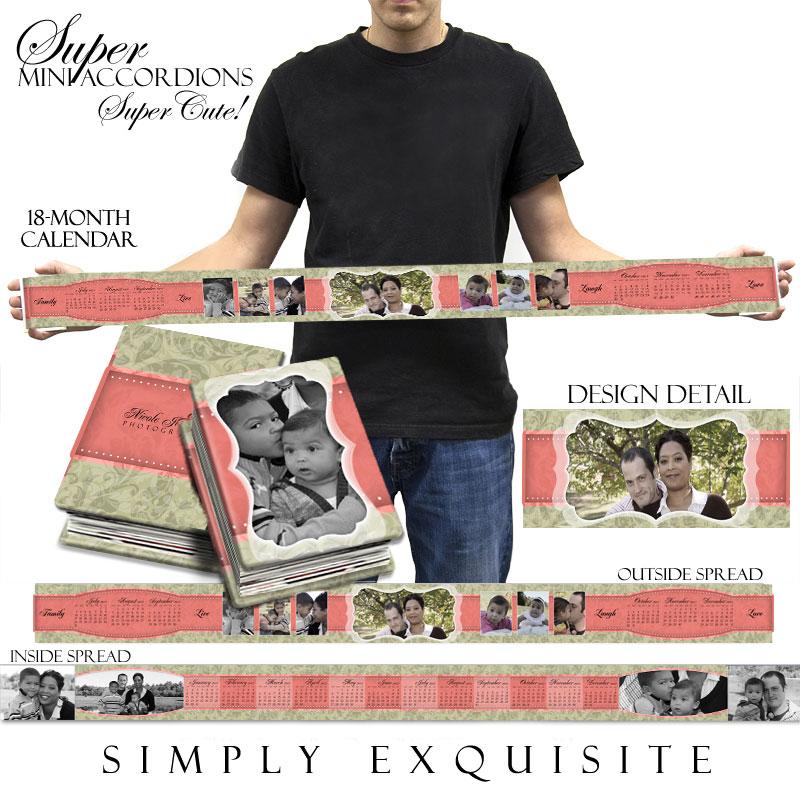 "18 Month Calendar ""Simply Exquisite"""