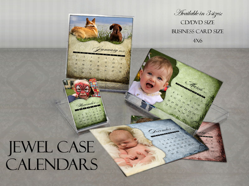 "12 Month Jewel Calendar ""Julia"""
