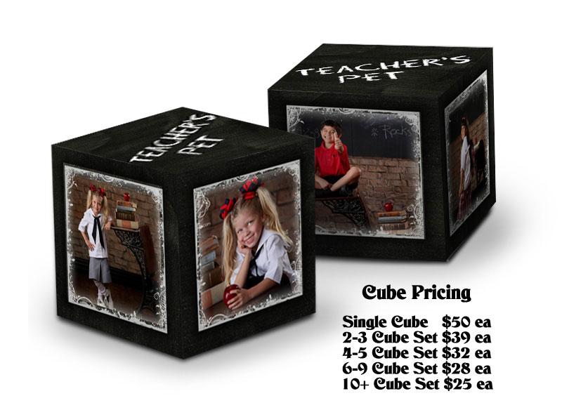 CubeChalkboard