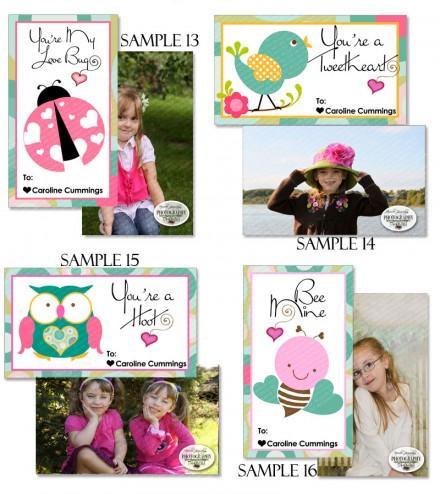 Valentine Classroom Cards 2015 – Class Valentine Cards
